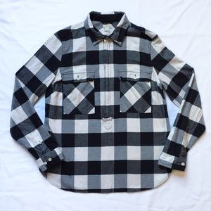 J. Crew Factory Buffalo Check Shirt-jacket